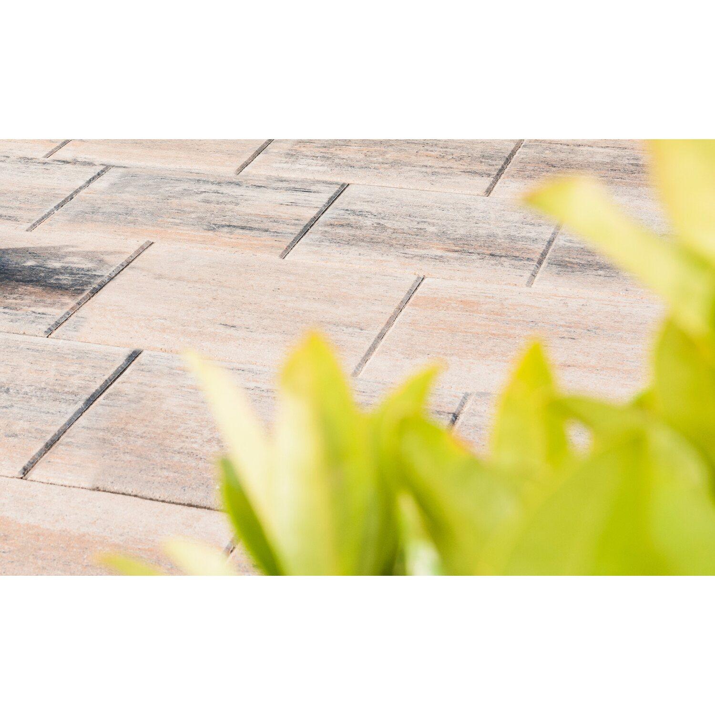 Diephaus Terrassenplatte Beton Corso Muschelkalk 40 cm x 40 cm x 4 cm