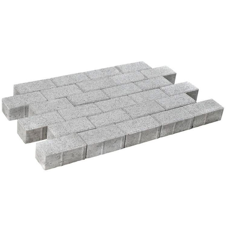 Diephaus Pflaster Beton Quadro Granit gewaschen 20 cm x 10 cm x 8 cm