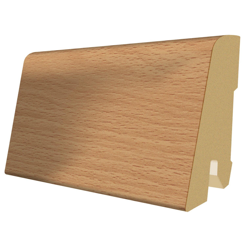 megafloor sockelleiste stangl buche 60 mm x 17 mm l nge. Black Bedroom Furniture Sets. Home Design Ideas