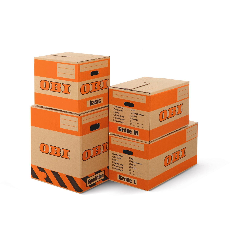 Berühmt OBI Umzugskarton L 30 kg 77 l 67 cm x 34 cm x 33 cm kaufen bei OBI XN31
