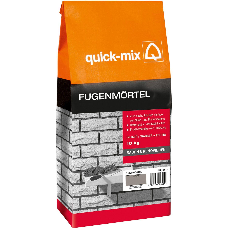 quick-mix fugenmörtel grau 10 kg kaufen bei obi