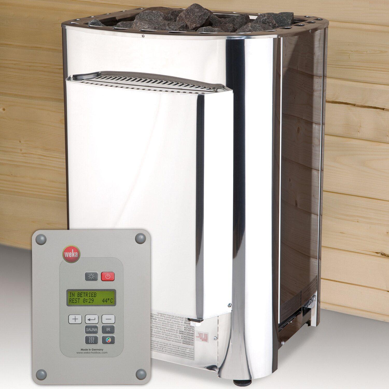 Weka Saunaofen-Set Profi BioS 11 kW | Bad > Sauna & Zubehör > Saunaöfen | Weka