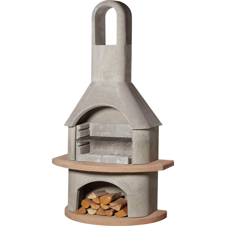 buschbeck grillkamin carmen grau-terrakotta kaufen bei obi