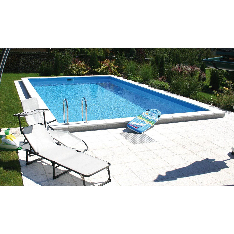 Summer Fun Styropor-Pool-Set London Einbaubecke...