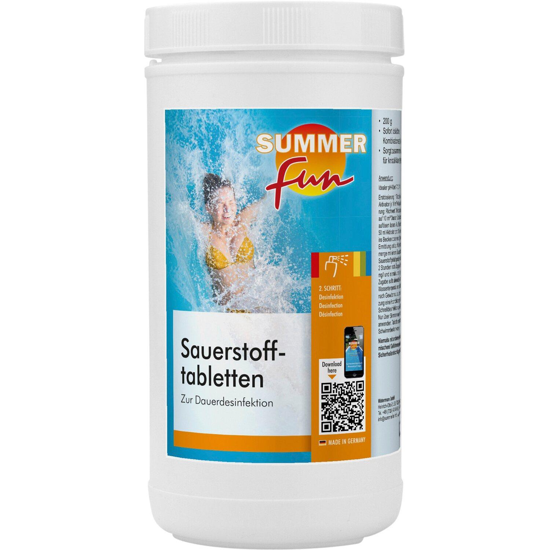 Summer Fun Sauerstofftabletten á 200 g 1,2 kg