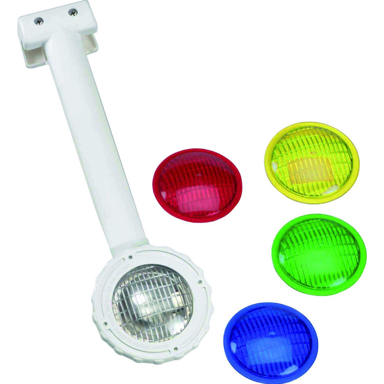 Einh nge unterwasser scheinwerfer preisvergleich lampe for Stahlwandbecken obi