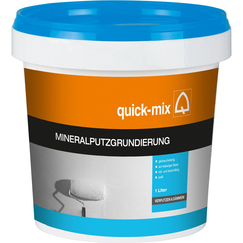 Quick Mix Mineralputz Grundierung 1 L Kaufen Bei Obi