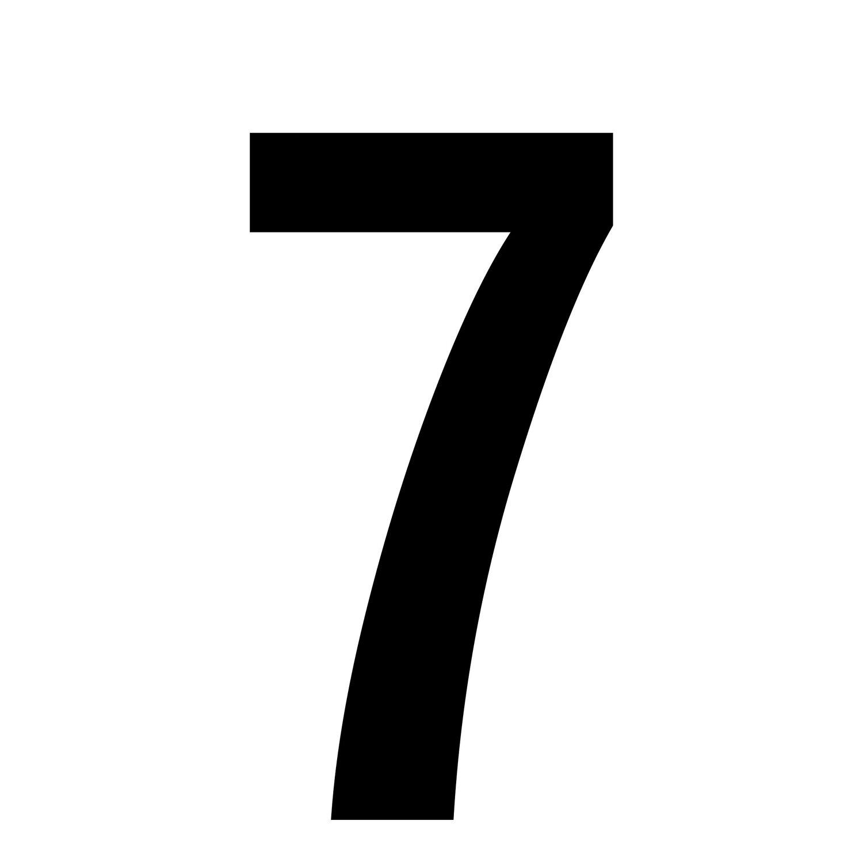 7 Zahl