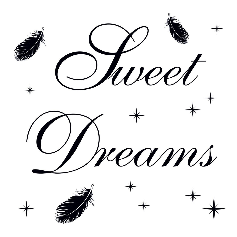 Wand-Tattoo Sweet Dream Heaven