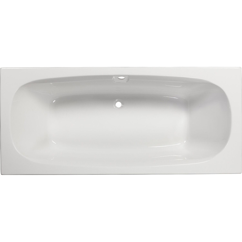 Sanoacryl Korperform Badewanne Marbela 180 Cm Weiss Kaufen Bei Obi