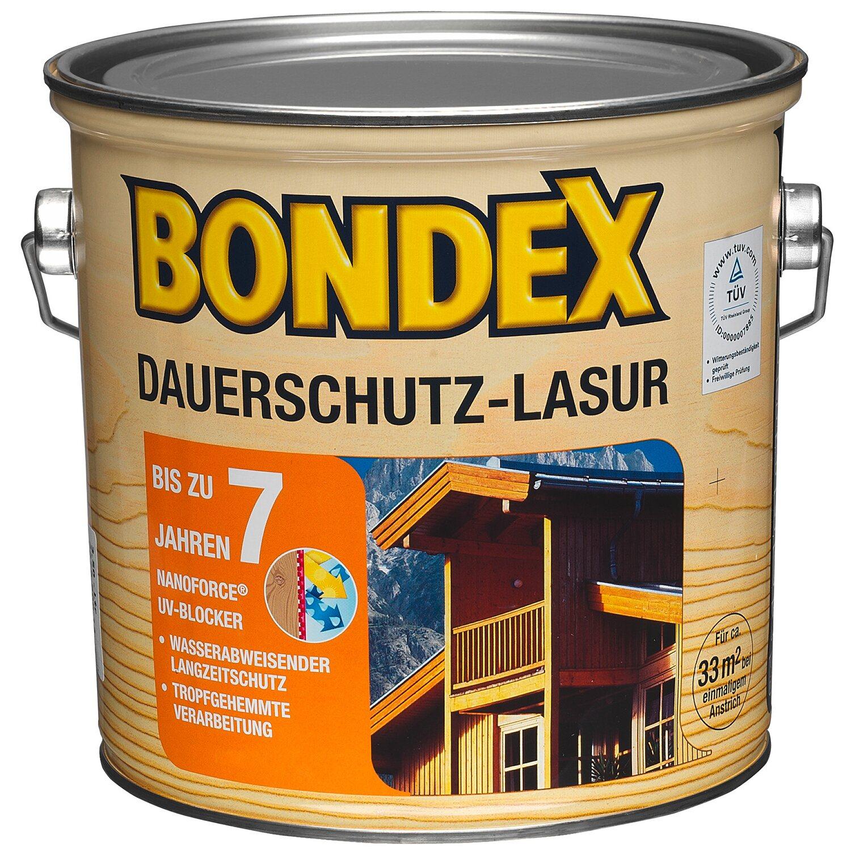 Bondex Dauerschutz-Lasur Oregon Pine 2,5 l kaufen bei OBI