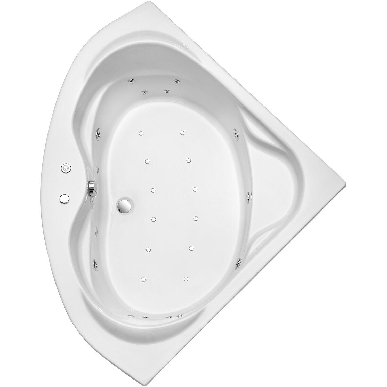 Ottofond Whirlpool Madras 145 cm Weiß | Bad > Badewannen & Whirlpools > Whirlpools | Weiß | Ottofond