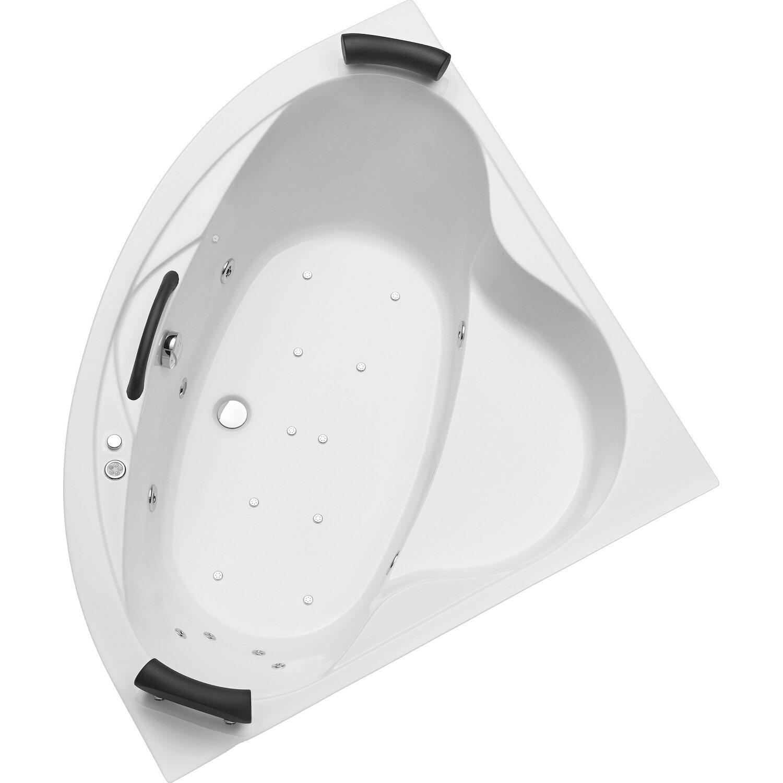 Whirlpool-Komplettsystem Siam 140 cm Weiß | Bad > Badewannen & Whirlpools > Whirlpools | Ottofond