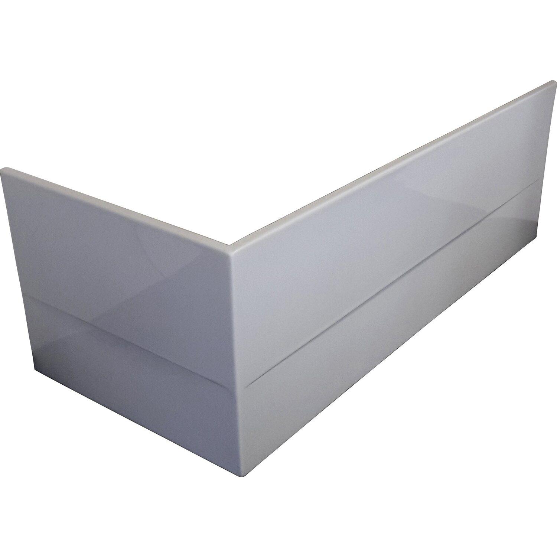 Acrylschürze zu Badewanne Porta 180 cm Links