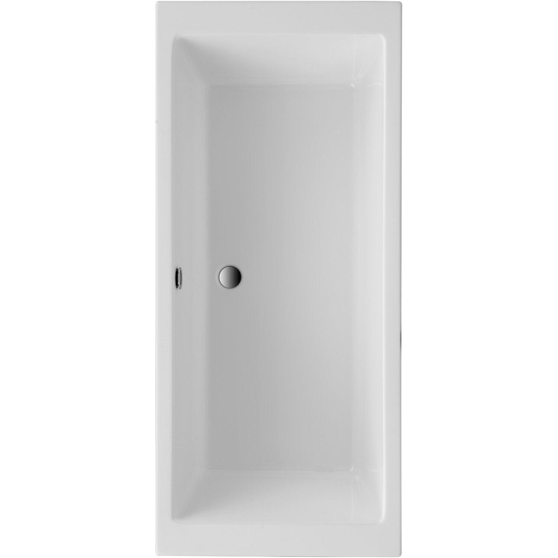 Freistehende Badewanne Grande 179,5 cm x 79,5 cm Weiß | Bad > Badewannen & Whirlpools > Freistehende Badewannen | Weiß | Sanitäracryl | Ottofond
