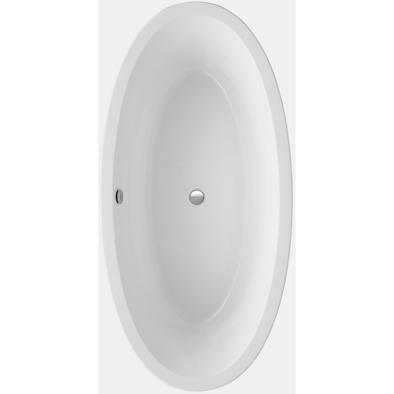 Freistehende Badewanne Latina 190 cm x 94 cm Weiß   Bad > Badewannen & Whirlpools > Freistehende Badewannen   Weiß   Sanitäracryl   Ottofond