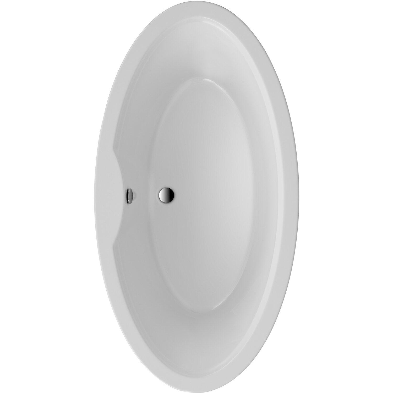 Freistehende Badewanne Luna 179,5 cm x 94,5 cm Weiß   Bad > Badewannen & Whirlpools > Freistehende Badewannen   Weiß   Sanitäracryl   Ottofond