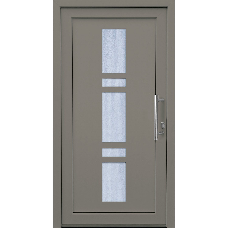 kunststoff haust r 100 cm x 200 cm k017 anschlag rechts anthrazit wei kaufen bei obi. Black Bedroom Furniture Sets. Home Design Ideas