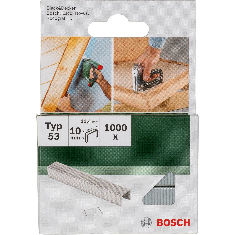 Bosch Feindrahtklammern Diy Typ 53 10 Mm 1 000 Stuck Kaufen Bei Obi