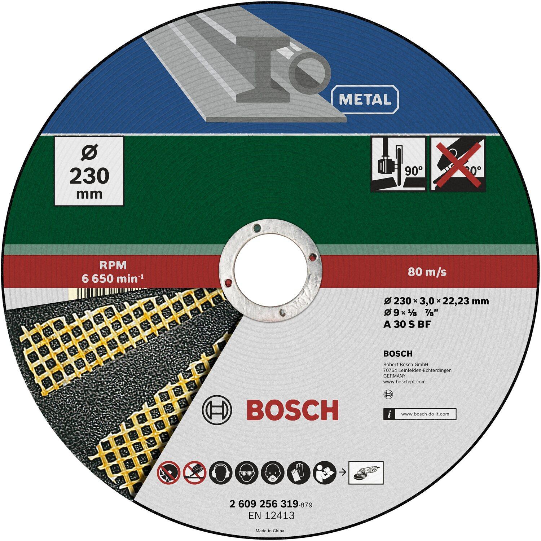 Bosch Trennscheibe Diy Gerade Fur Metall 230 Mm Kaufen Bei Obi
