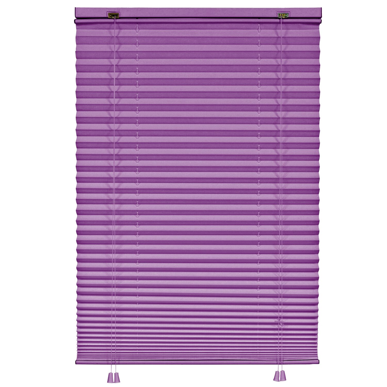 gardinia plissee 60 cm x 160 cm violett kaufen bei obi. Black Bedroom Furniture Sets. Home Design Ideas