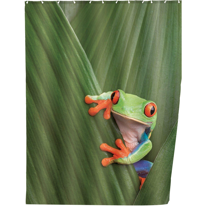 Wenko Duschvorhang Frog 200 cm x 180 cm