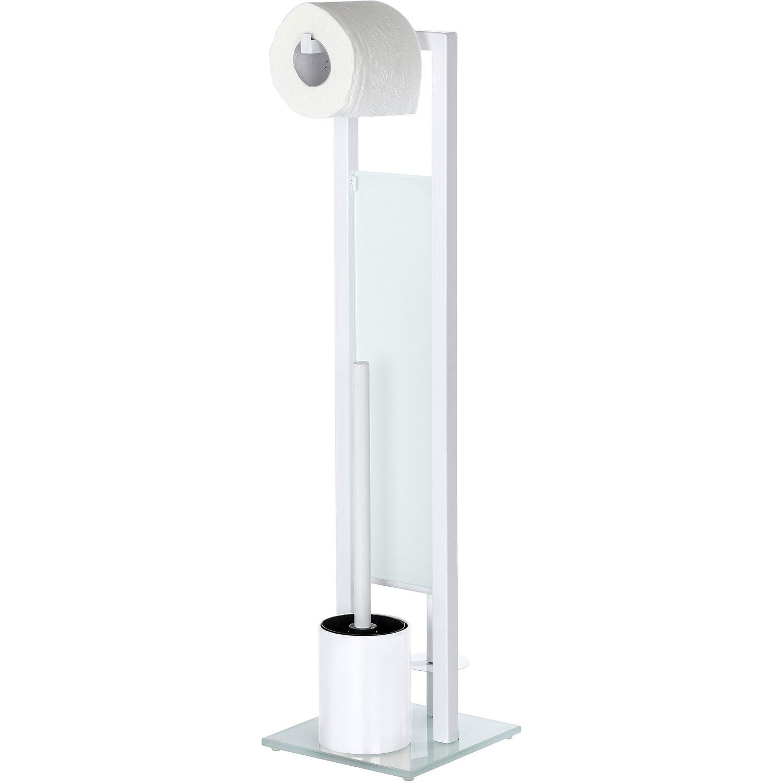 wenko stand wc garnitur rivalta wei 70 cm x 18 cm x 20 cm kaufen bei obi. Black Bedroom Furniture Sets. Home Design Ideas