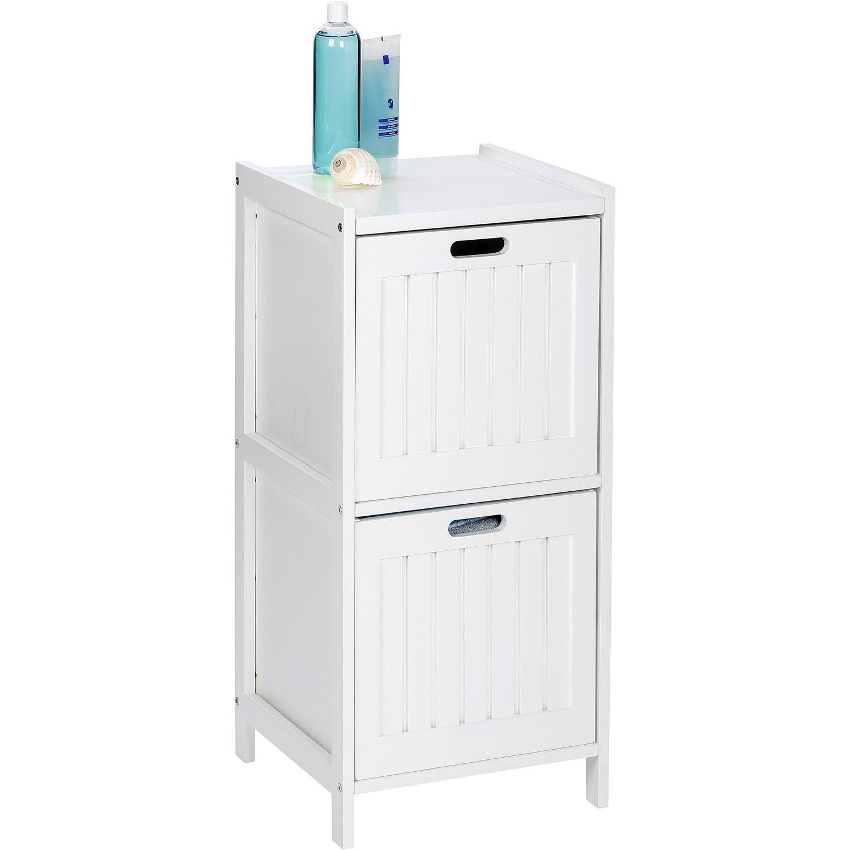 wenko regal oslo echtholz wei 2 schubladen 76 cm x 36 cm x 36 cm kaufen bei obi. Black Bedroom Furniture Sets. Home Design Ideas