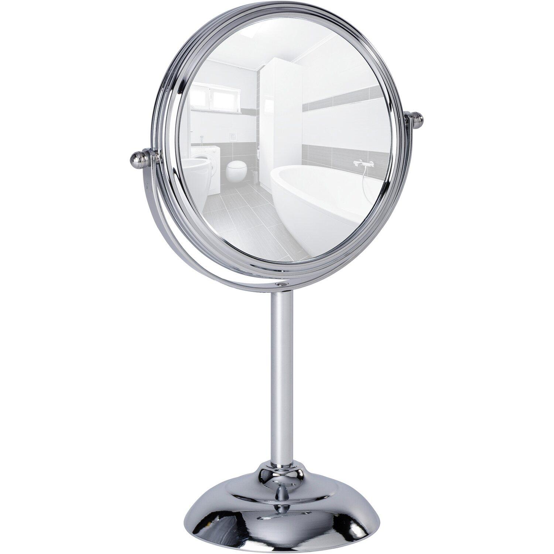 Wenko Kosmetikspiegel Globo Chrom 29,5 cm x 18,5 cm x 11 cm