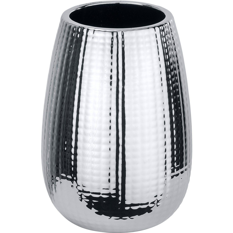 wenko bad accessoire set dakar 3 teilig silber kaufen bei obi. Black Bedroom Furniture Sets. Home Design Ideas