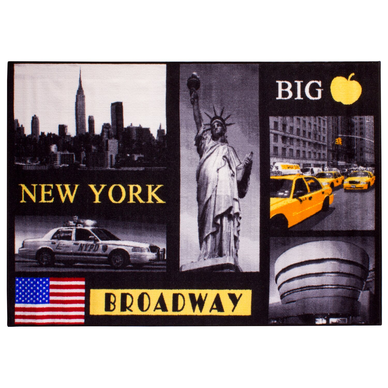 teppich america new york 120 cm x 170 cm kaufen bei obi. Black Bedroom Furniture Sets. Home Design Ideas