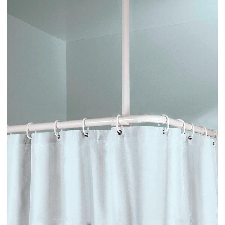 OBI Stange Deckenhalter 60 cm Länge (25 mm) Weiß