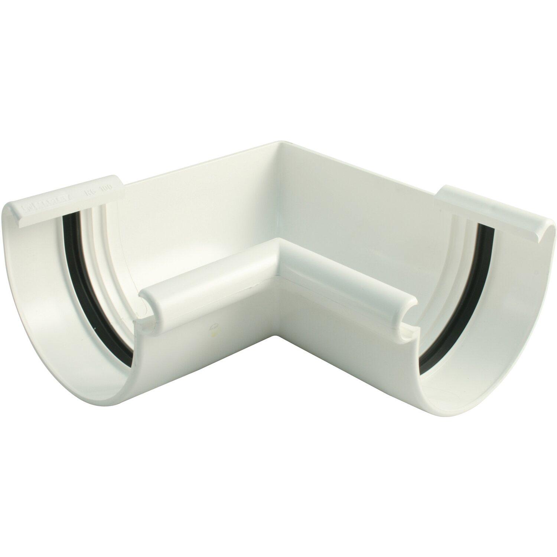 marley dachrinnen innenecke rg 75 wei kaufen bei obi. Black Bedroom Furniture Sets. Home Design Ideas