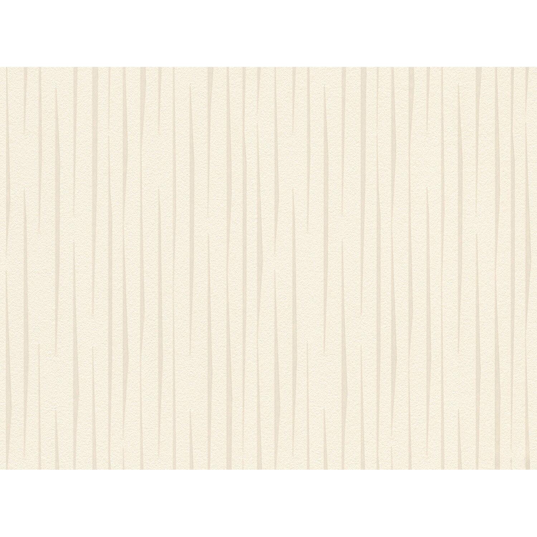 Aisslinger Vliestapete Streifen Beige