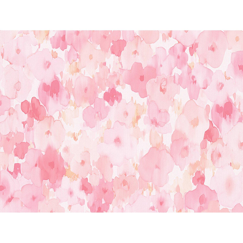 AS Creation A.S. Creation Papiertapete Boys & Girls 5 Blumen Rosa