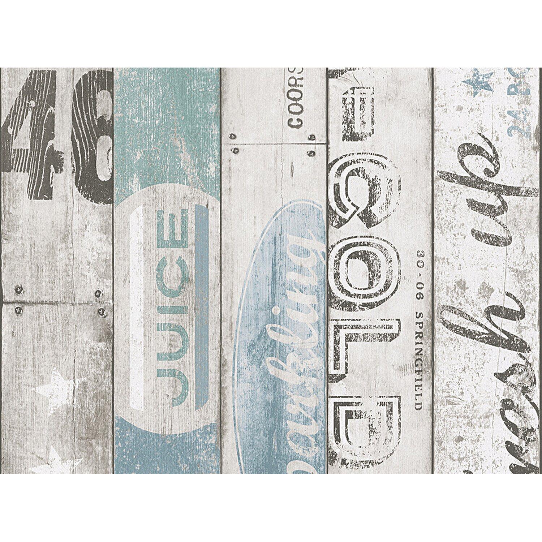AS Creation A.S. Creation Papiertapete Boys & Girls 5 Modern Grau