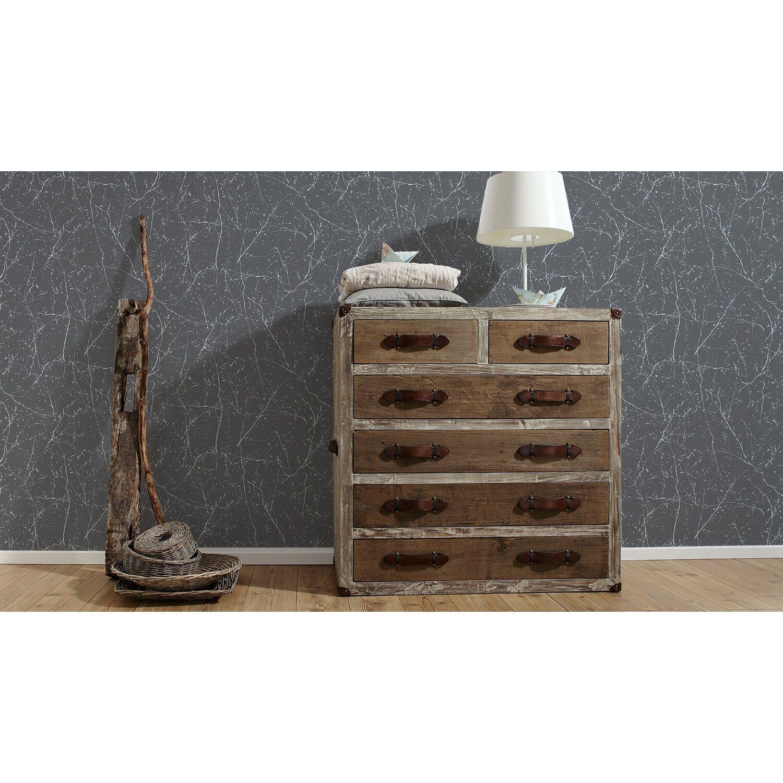 a s creation vliestapete elegance 3 struktur grau kaufen bei obi. Black Bedroom Furniture Sets. Home Design Ideas