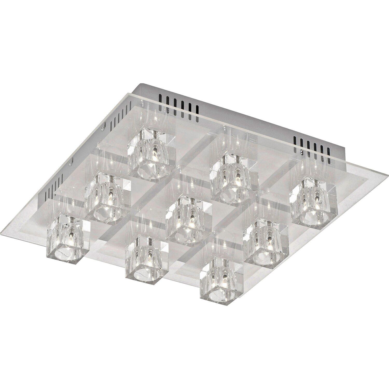 Halogen-Deckenleuchte Oki EEK: C | Lampen > Deckenleuchten > Deckenlampen | Glas - Kristallglas | LeuchtenDirekt by Neuhaus