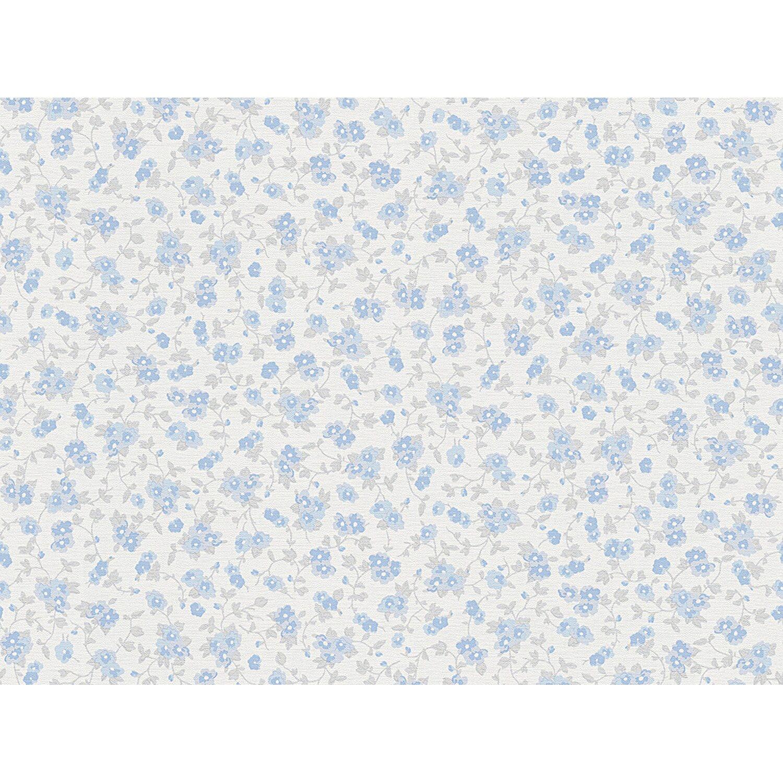 A.S. Creation Vliestapete Liberte Blumen Blau | Baumarkt > Malern und Tapezieren > Tapeten | AS-Creation