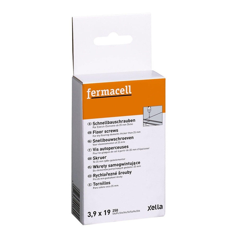 Fermacell  Schnellbauschrauben 3,9 mm x 19 mm 250 Stück