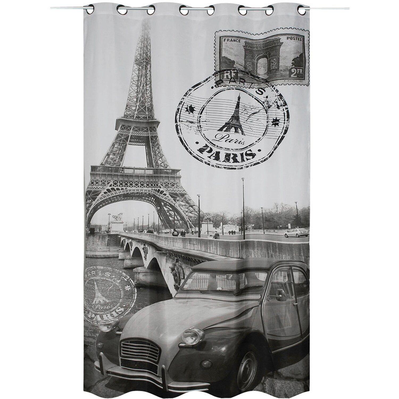 Bennetti  Ösenschal Fotodruck Paris 245 cm x 135 cm