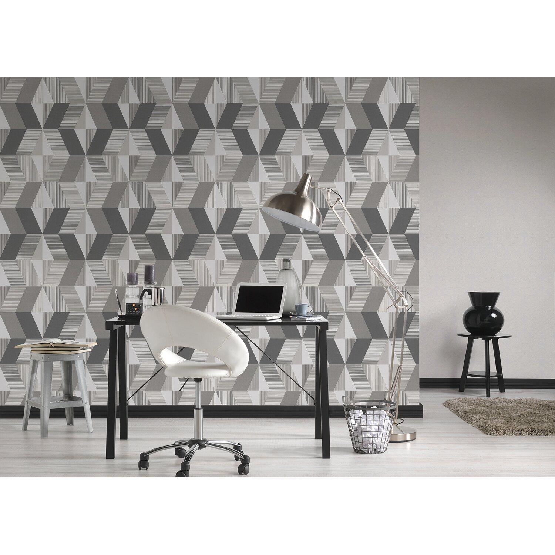 michalsky 2 vliestapete grafik braun kaufen bei obi. Black Bedroom Furniture Sets. Home Design Ideas