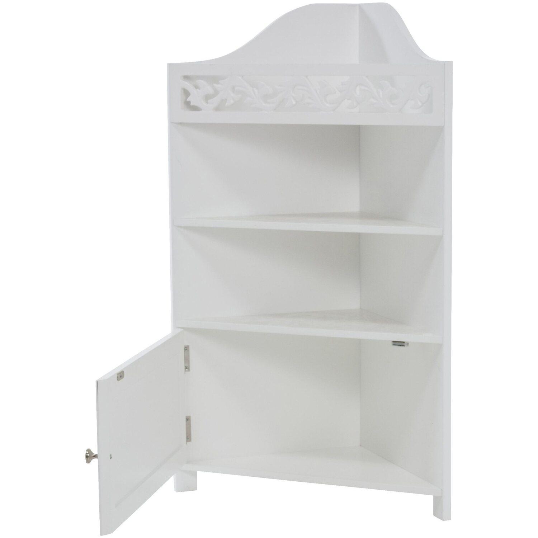 miavilla eckschrank romance wei kaufen bei obi. Black Bedroom Furniture Sets. Home Design Ideas