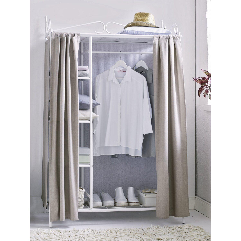 Best Of Home Kleiderschrank Air Weiss Taupe Kaufen Bei Obi
