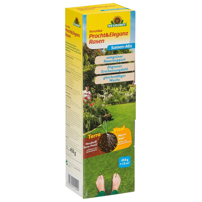 Neudorff Terra Vital Pracht Und Eleganz Rasen Samen Mix 450 G