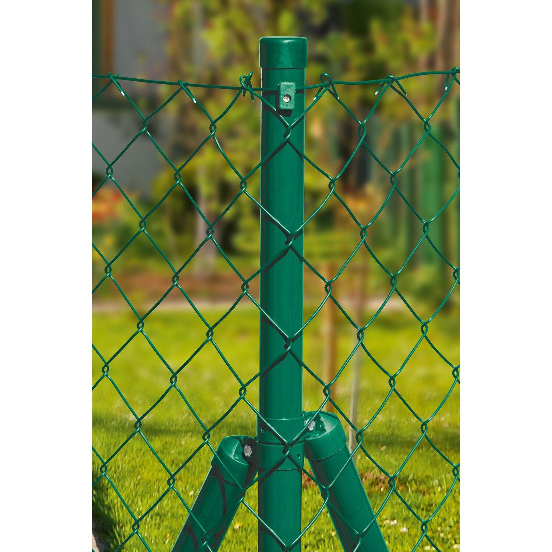 Maschendrahtzaun Ergänzungs Set 1 m x 10 m Grün kaufen bei OBI