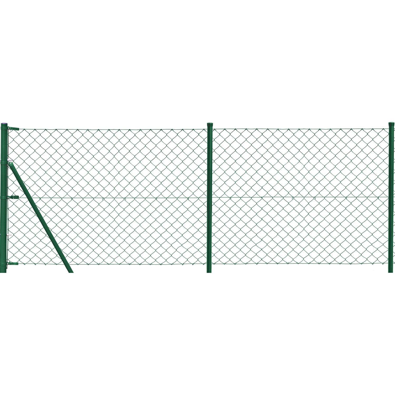 maschendrahtzaun erg nzungs set 1 m x 10 m gr n kaufen bei obi. Black Bedroom Furniture Sets. Home Design Ideas