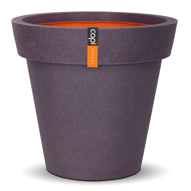 capi pflanztopf rim 48 cm aubergine kaufen bei obi. Black Bedroom Furniture Sets. Home Design Ideas