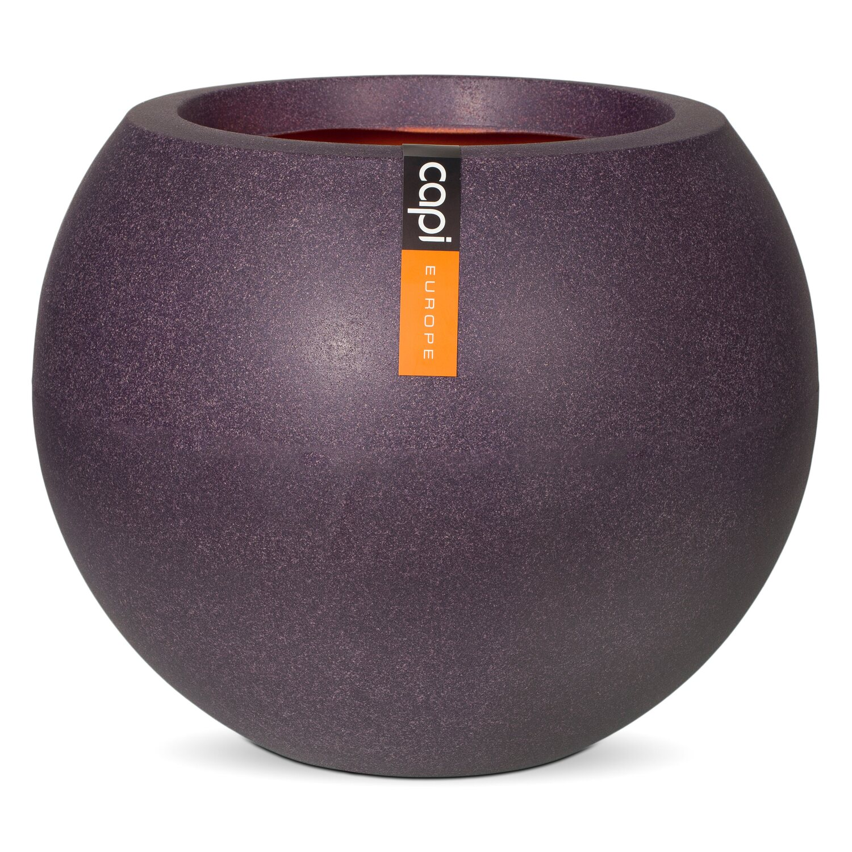 capi pflanztopf kugel 40 cm aubergine kaufen bei obi. Black Bedroom Furniture Sets. Home Design Ideas