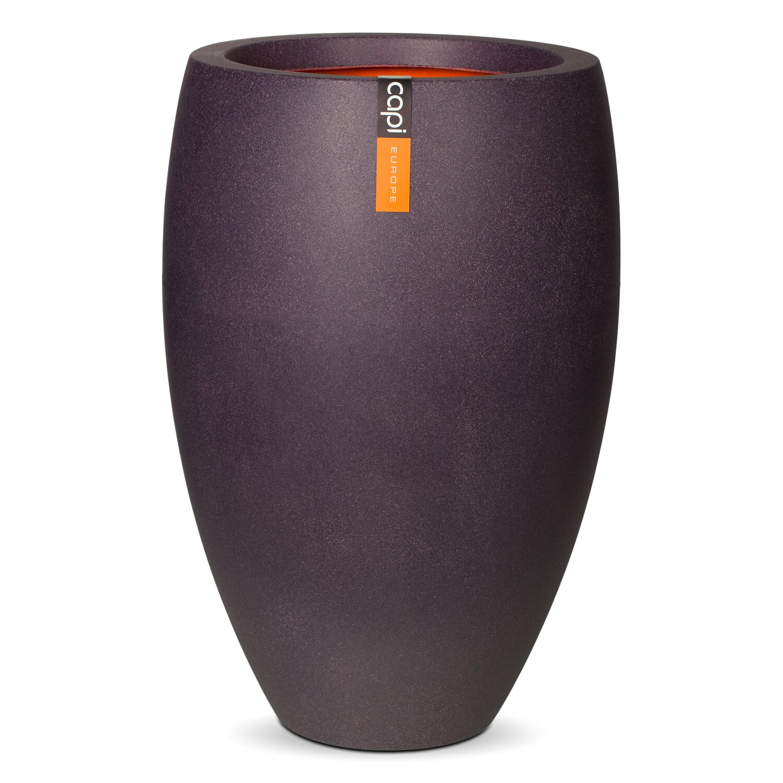 capi pflanztopf elegant deluxe 40 cm aubergine kaufen. Black Bedroom Furniture Sets. Home Design Ideas